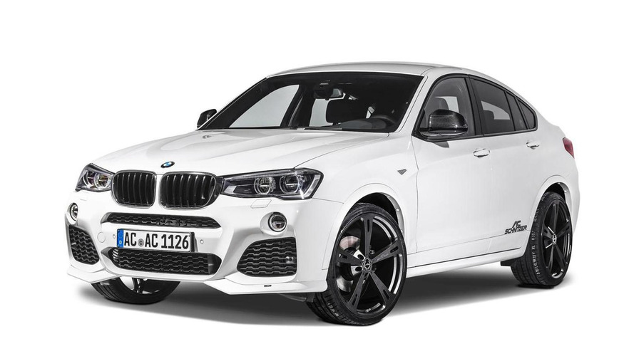 AC Schnitzer tunes the BMW X4 to 360 PS