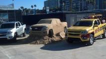 2015 Chevrolet Colorado made out of sand