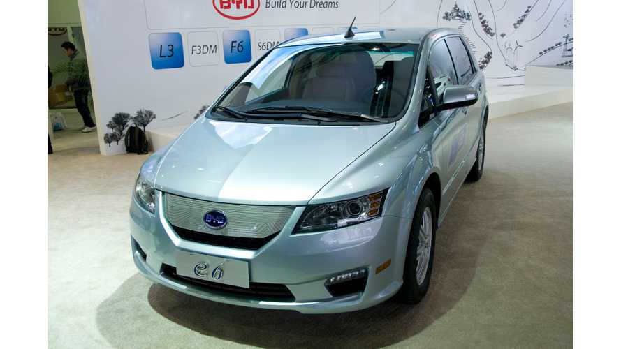 Uber & BYD To Test Electric Taxis