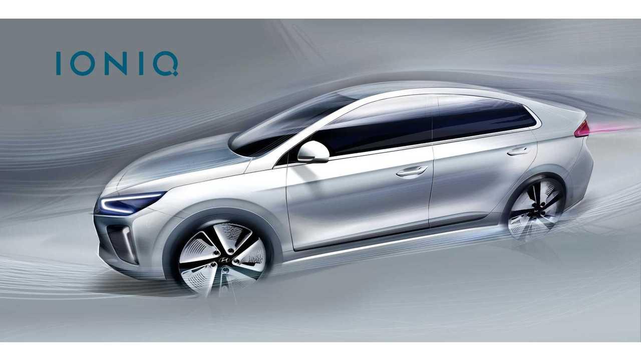 Hyundai Ioniq Gets Revealed (w/drivetrain & spy videos)