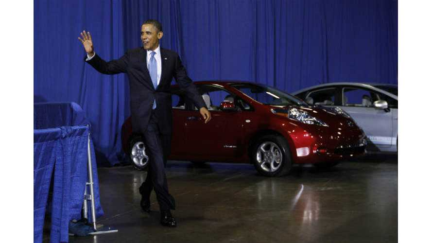 President Obama Issues Order: 50% Of New Federal Agency Vehicles To Be ZEVs Or PHEVs By 2025