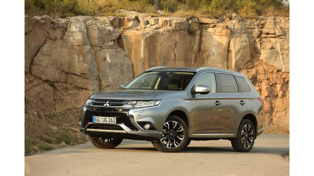 Refreshed Mitsubishi Outlander PHEV To Be Presented At The Frankfurt Motor Show
