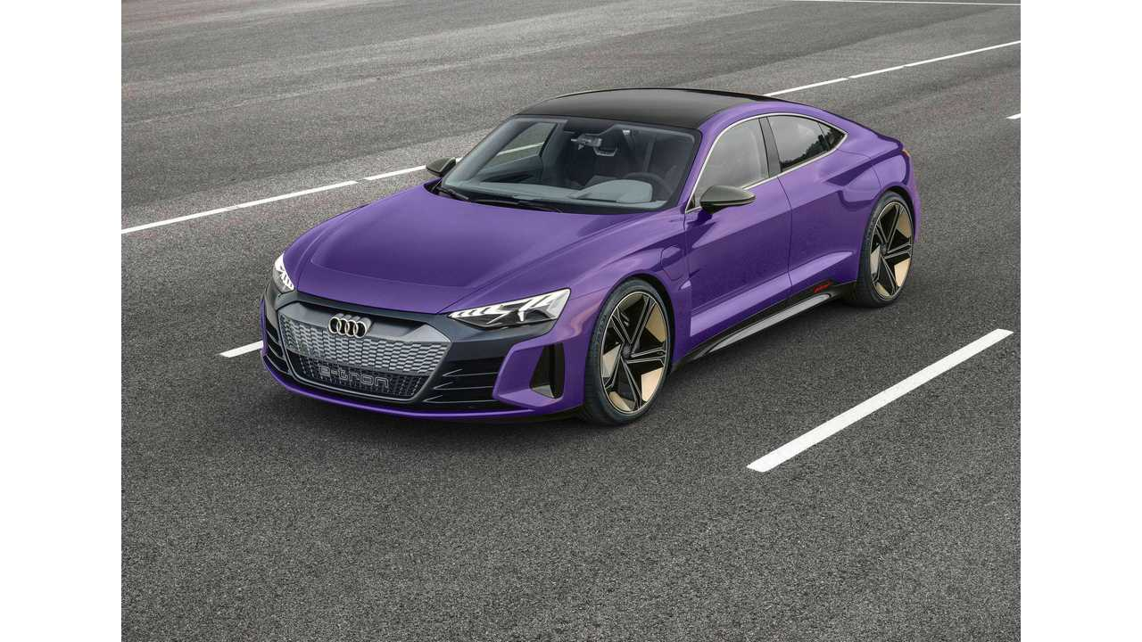 Audi E Tron Gt Rendered In New Colors Including Purple