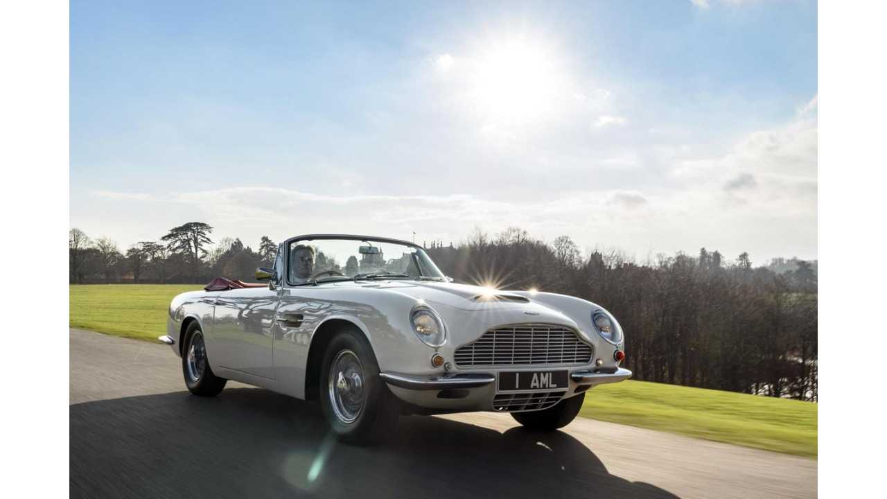 Aston Martin Launches Classic Electric Conversions