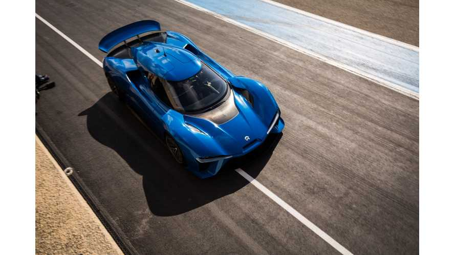 NIO EP9's Record-Setting Nürburgring Time Is Just What EVs Need