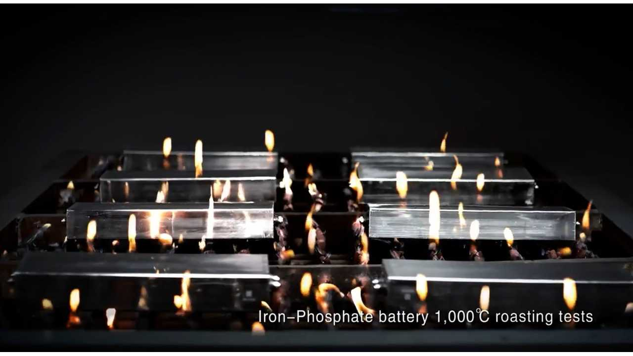 BYD battery test