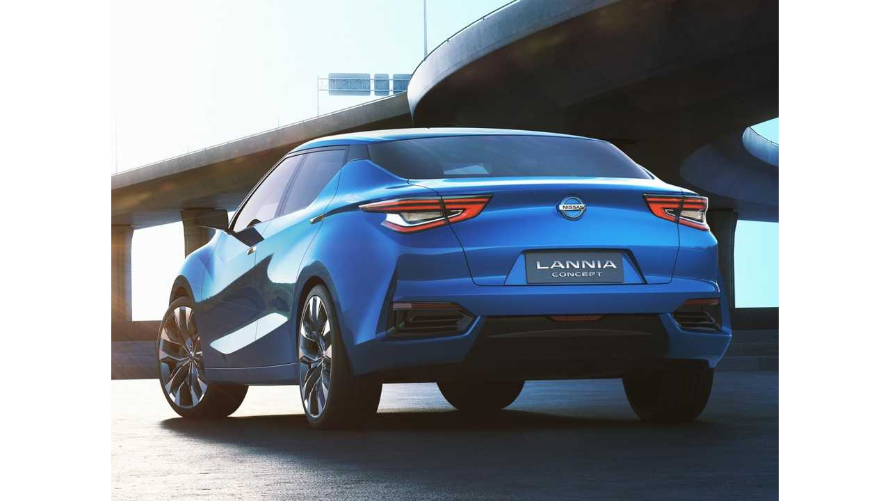 Nissan Lannia Concept Hints At Next Gen LEAF? We Think So