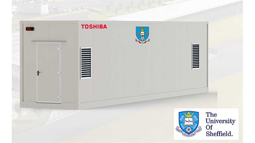 Toshiba Called On To Supply Lithium Titanate Battery For 2 MW Energy Storage System In UK