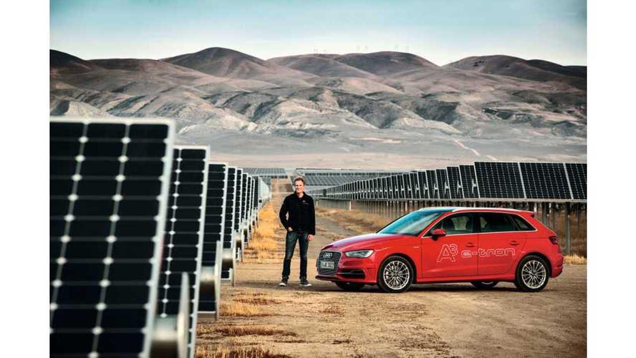 2015 Volkswagen e-Golf, 2016 Audi A3 E-Tron Get Carbon Offset, SunPower Home Solar In U.S.