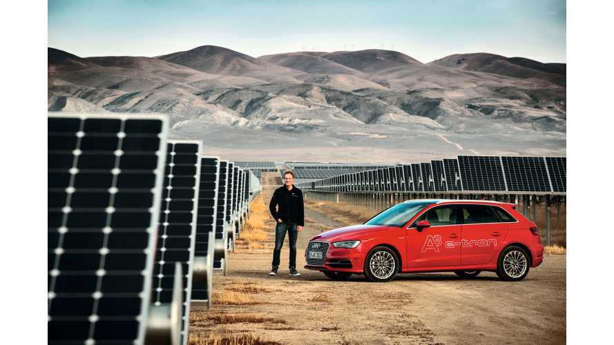2015 Volkswagen e-Golf, 2016 Audi A3 E-Tron Get Carbon Offset, SunPower Home Solar In U.S.