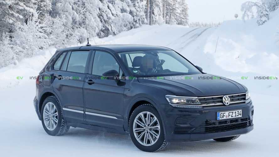 Spied: Volkswagen I.D. Crozz Mule Based On Tiguan
