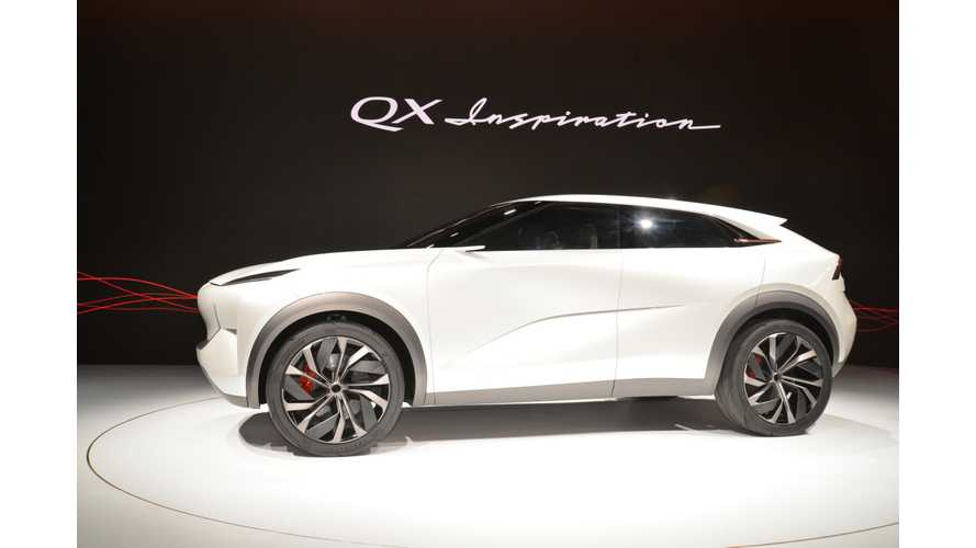 Infiniti QX Inspiration Electric SUV At NAIAS: Photos & Videos