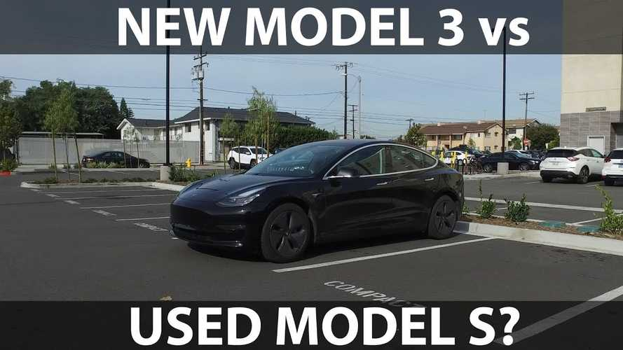 New Tesla Model 3 vs Second-Hand Model S: Video
