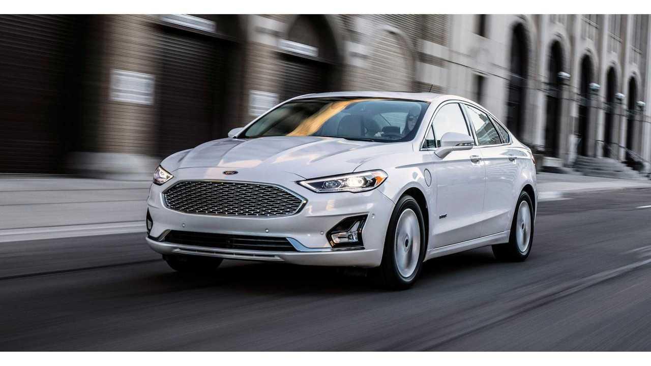 2019 Ford Fusion Energi Gets Electric Range Bump