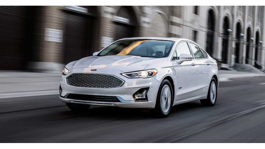 2019 Ford Fusion Energi Gets Electric Range Bump