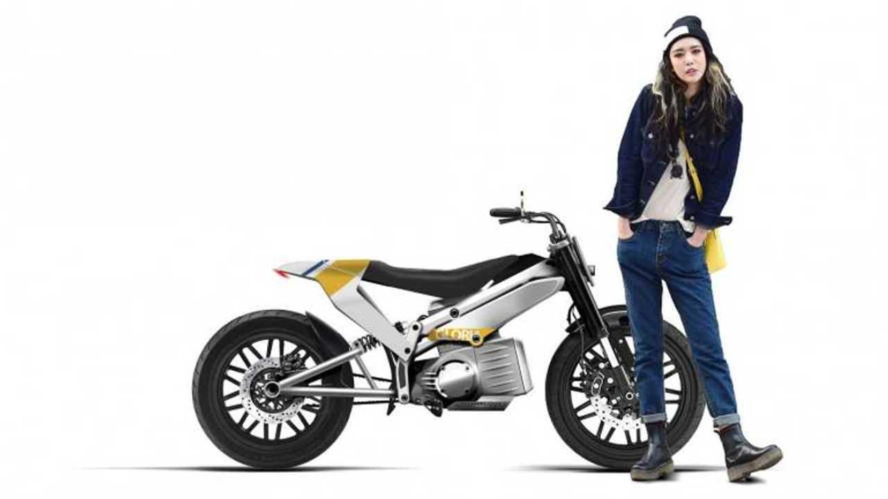 Gloria Electric Motorcycle Combines Fashion, Fad