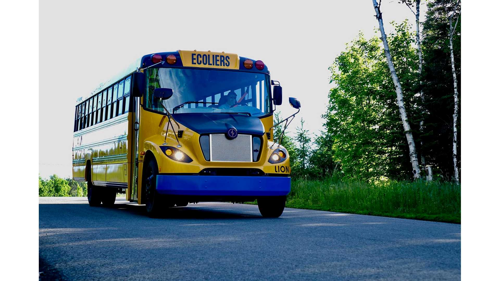 Lion Logs Largest Electric School Bus Order In North America