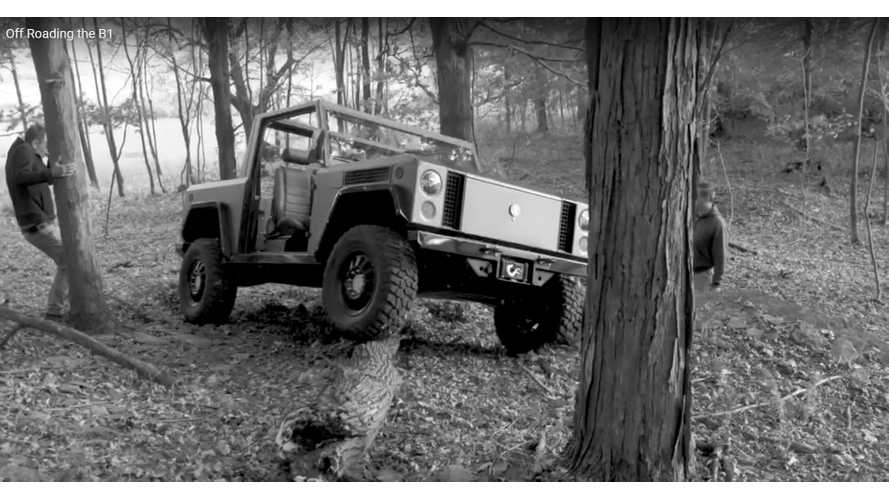 Bollinger B1 Goes Off-Roading As Reservations Hit 10,000 - Video