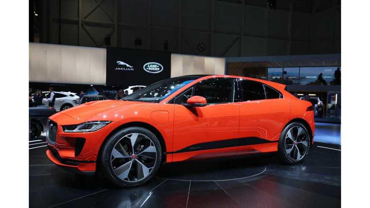 Live Photos & Videos Of Jaguar I-Pace From Geneva