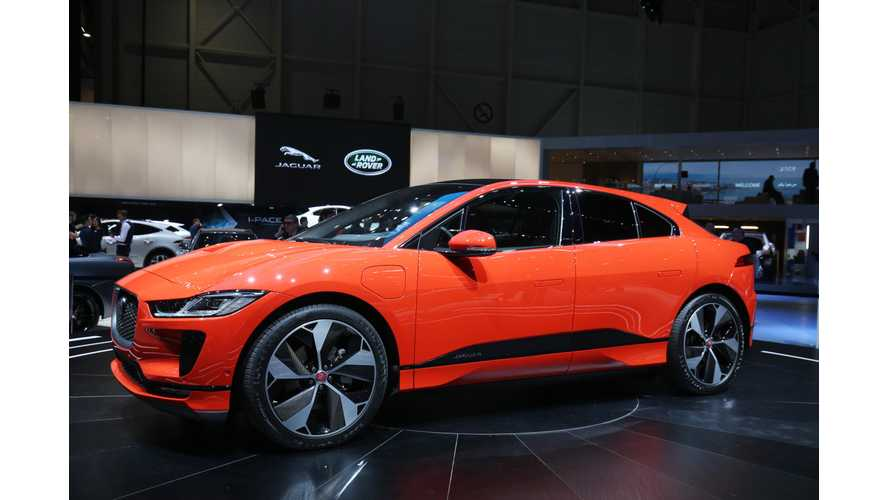 Live Photos & Videos Of Jaguar I-Pace From Geneva