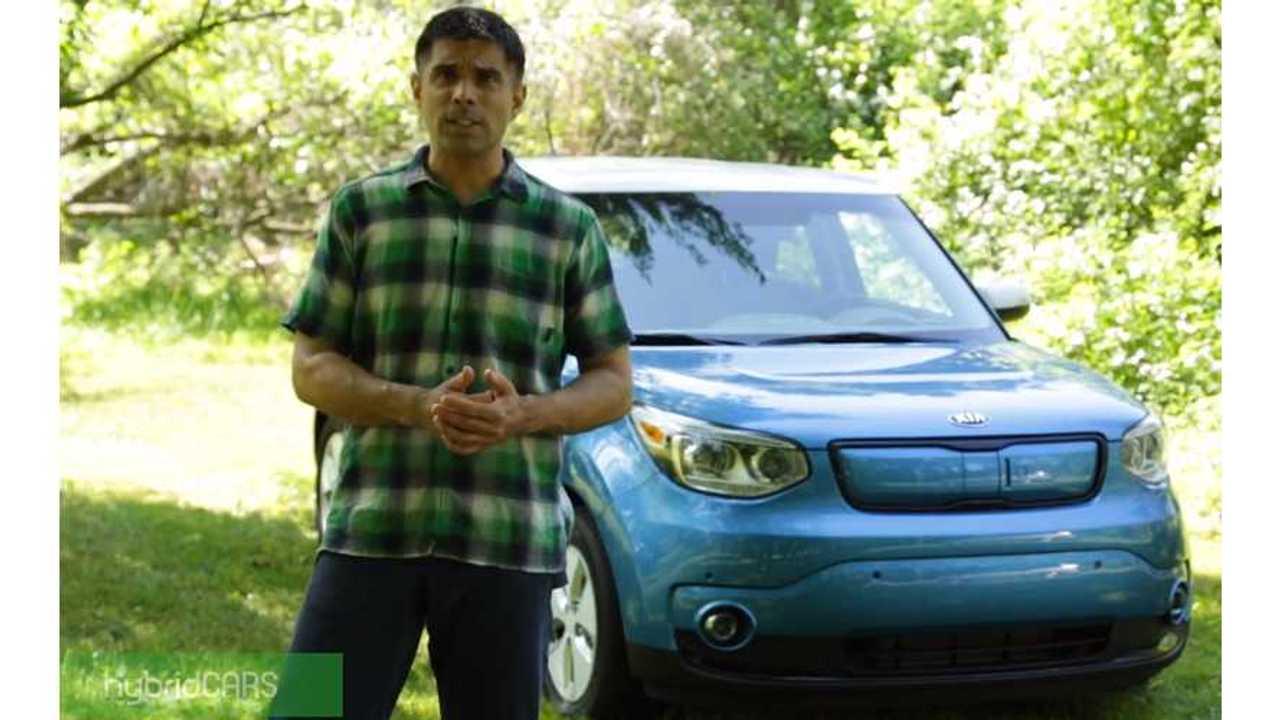 Kia Soul EV - HybridCars.com