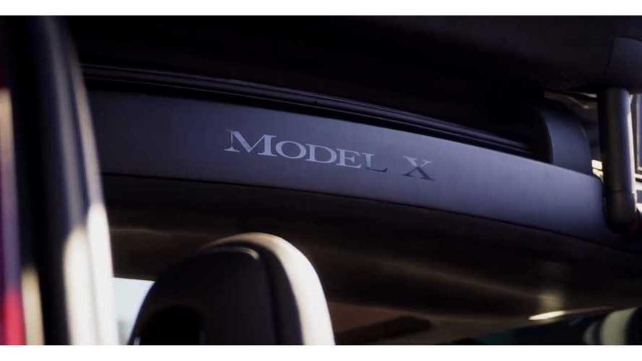 tesla model x falcon wing logo