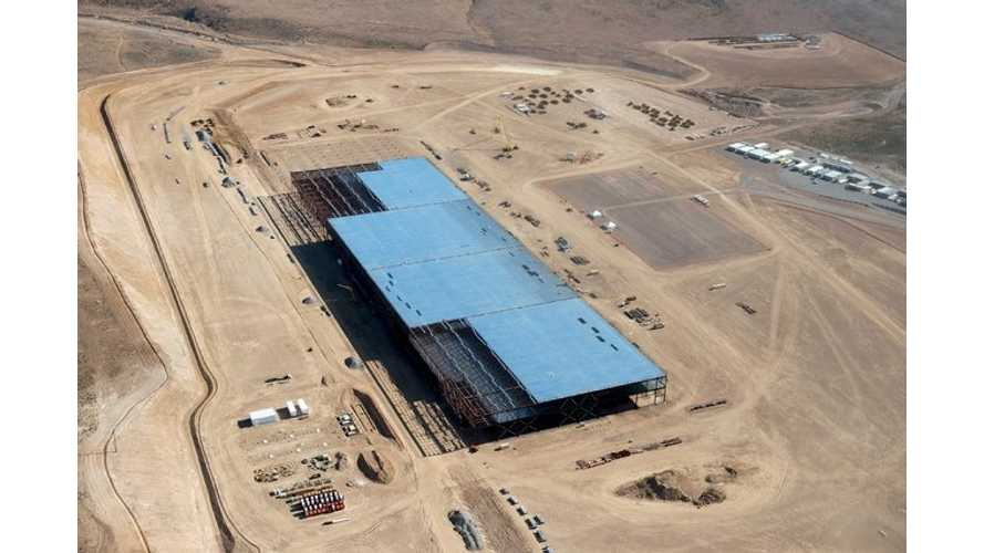 First Phase Of Building Tesla Gigafactory Nearly Complete