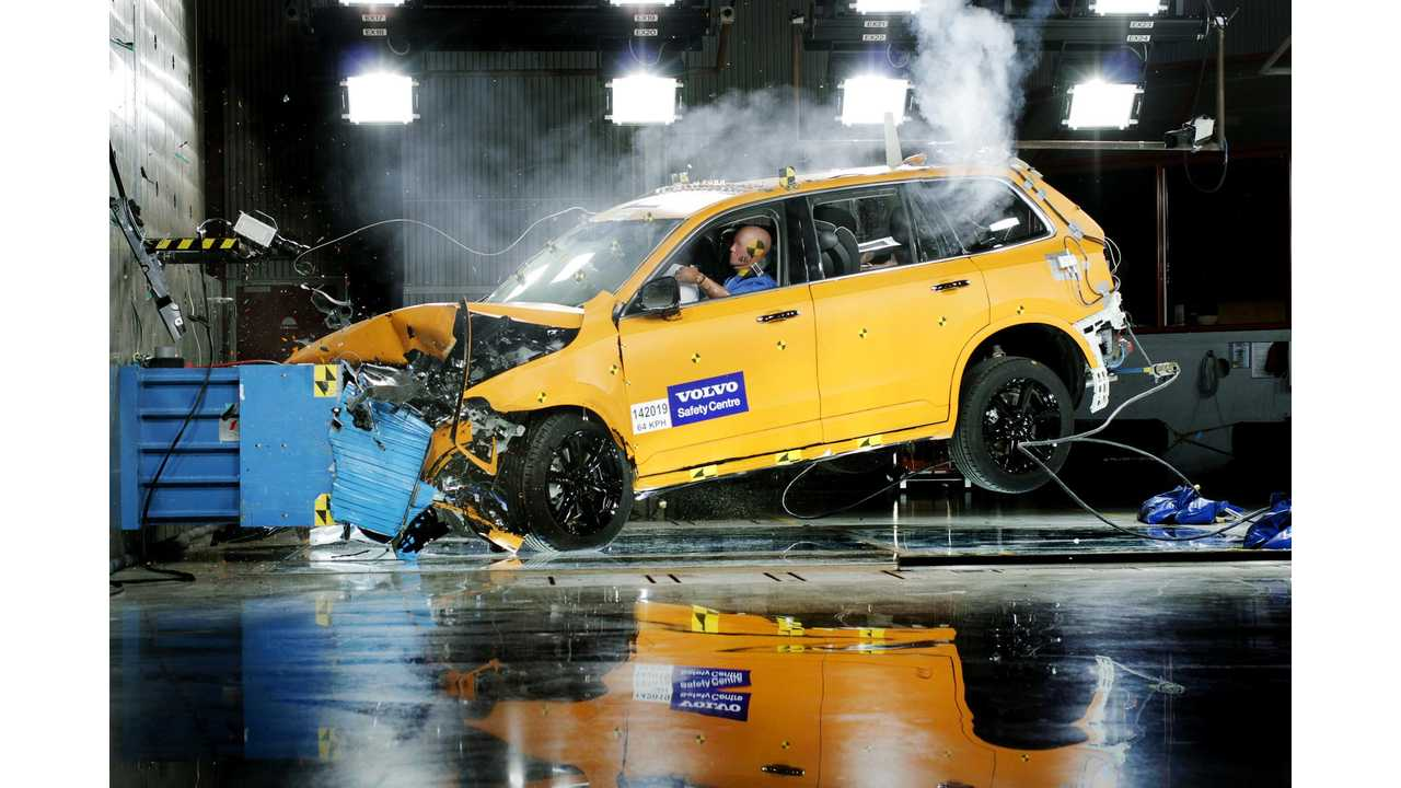 Volvo XC90 Named Euro NCAP Best in Class 2015