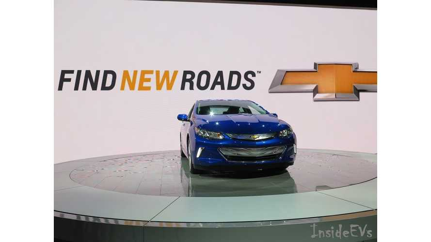 Fleet Of Autonomous 2017 Chevrolet Volts To Be Deployed At GM Tech Center In Late 2016