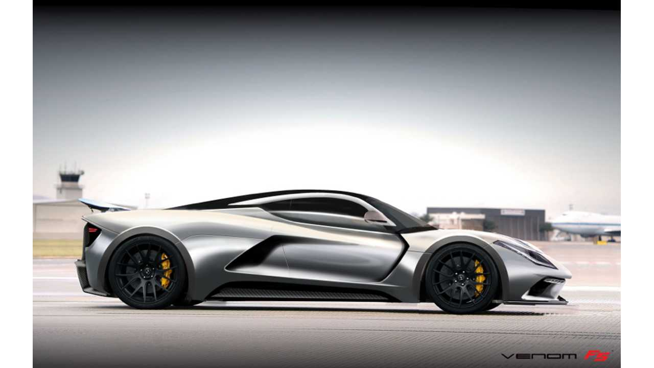 Hennessey Considers All-Electric 1,000-HP Venom GT