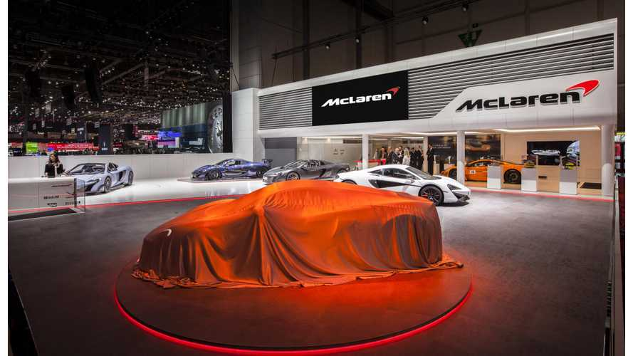 McLaren Developing Pure Electric Hypercar Under Ultimate Series Program