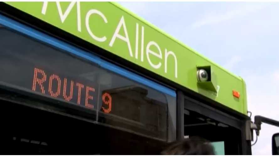 Texas Gets Its First Two Electric, Wireless Charging Buses - Video