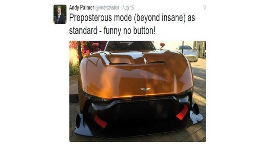 Aston Martin CEO Andy Palmer:  Tesla's
