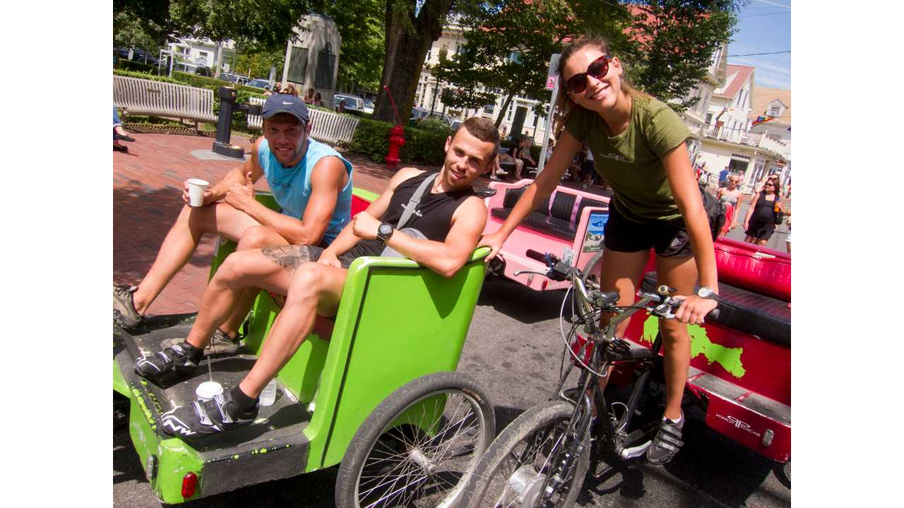 Exclusive: The Electric (Assist) Pedicabs of Provincetown