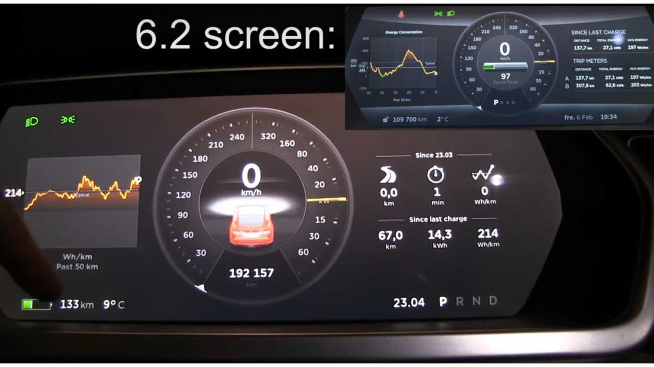 Bjorn Nyland Offers Suggestions For Model S Firmware 7.1 - Video