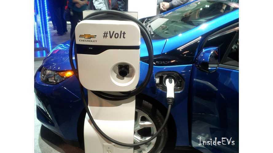 2017 Chevrolet Volt charging port CAIS 2016