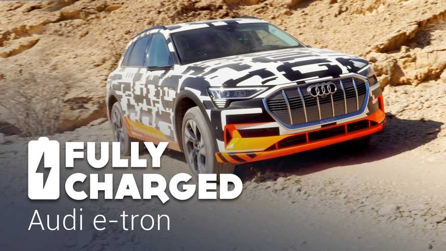 Audi e-tron Featured By Fully Charged In Abu Dhabi: Video