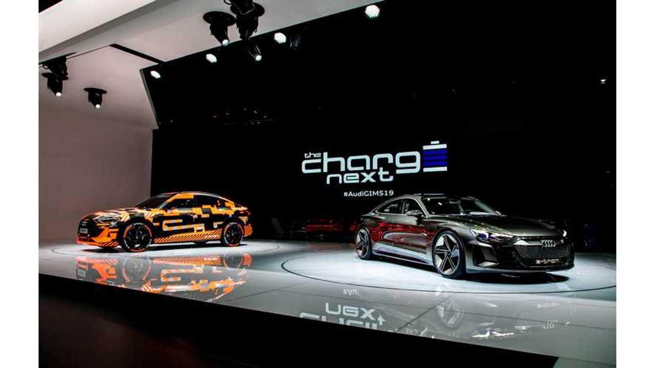 Prototipo Audi e-tron Sportback e concetto Audi e-tron GT