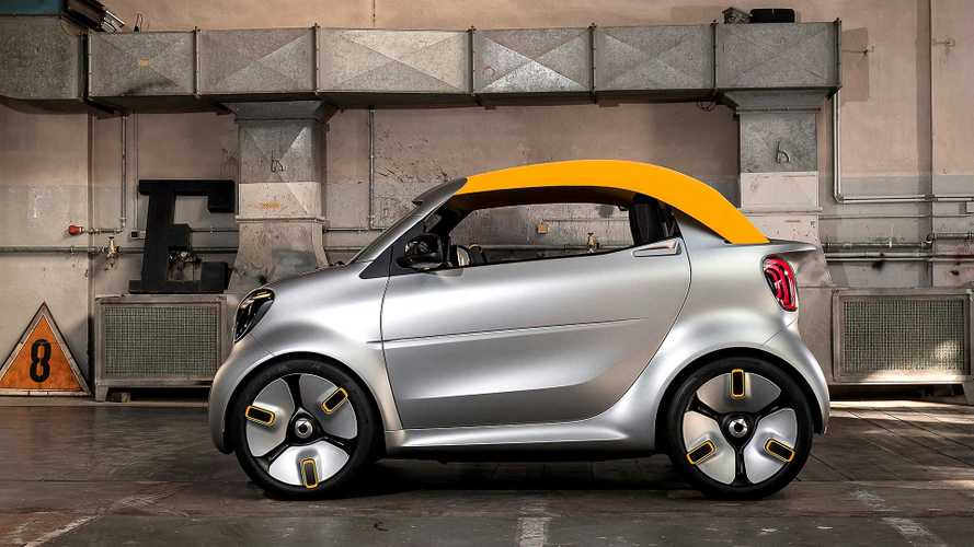 Smart Forease+ Concept Is A Cute, Tiny Convertible