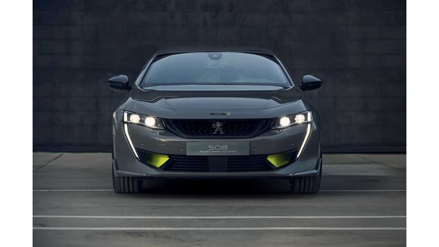 508 Peugeot Sport Engineered PHEV Concept Revealed