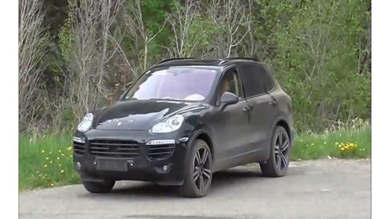 Porsche Cayenne Screen Shot - KGP