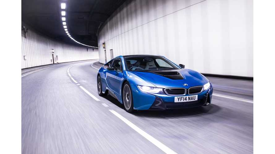 BMW i8 Launches In UK Priced From £94,845 ($162,000 USD)