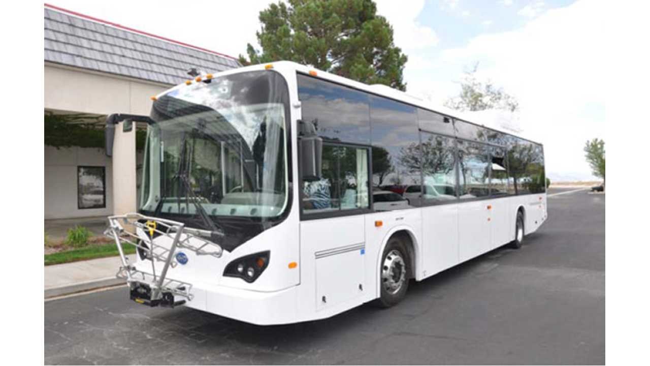 BYD Electric Bus Approved For Sale In Canada
