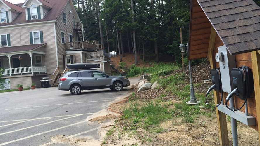 Bed & Breakfast In New Hampshire Installs 2 Charging Stations To Attract New Guests