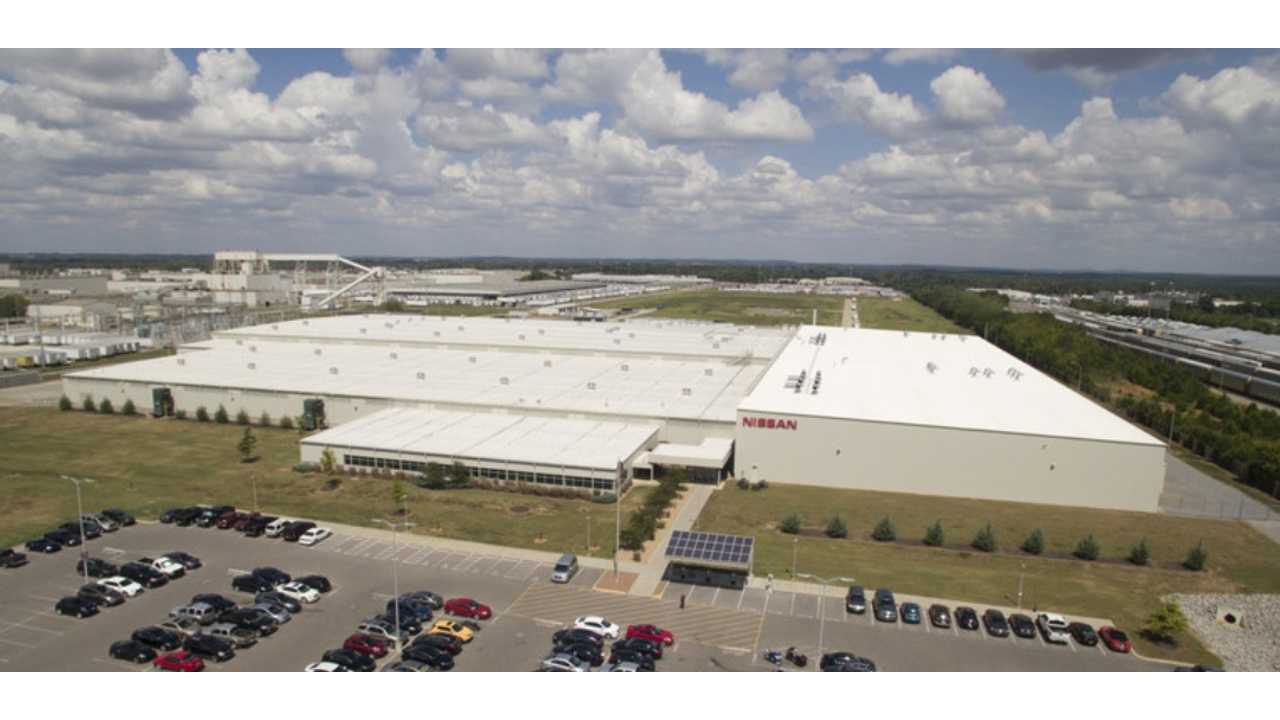 New 2016 Nissan LEAF Batteries (both chemistries) Are Made Next Door To Manufacturing Facility In Smyrna, TN
