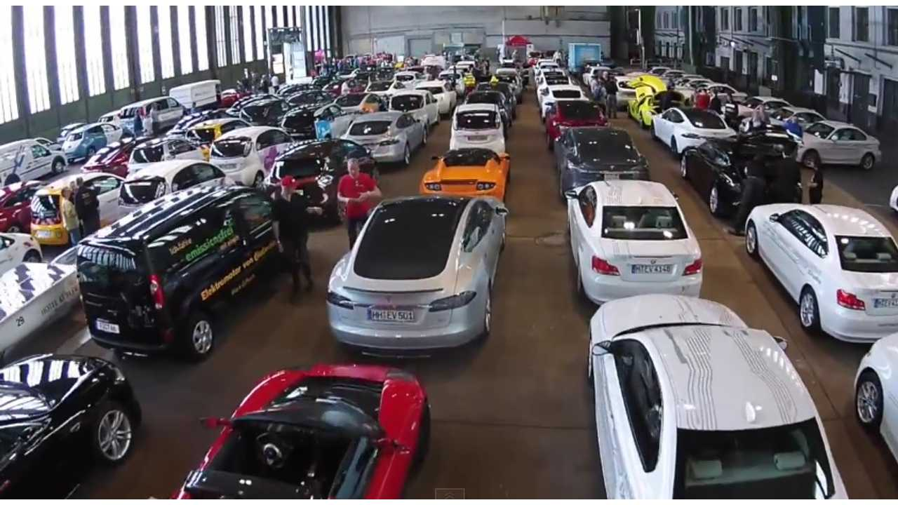 So many EVs under one roof