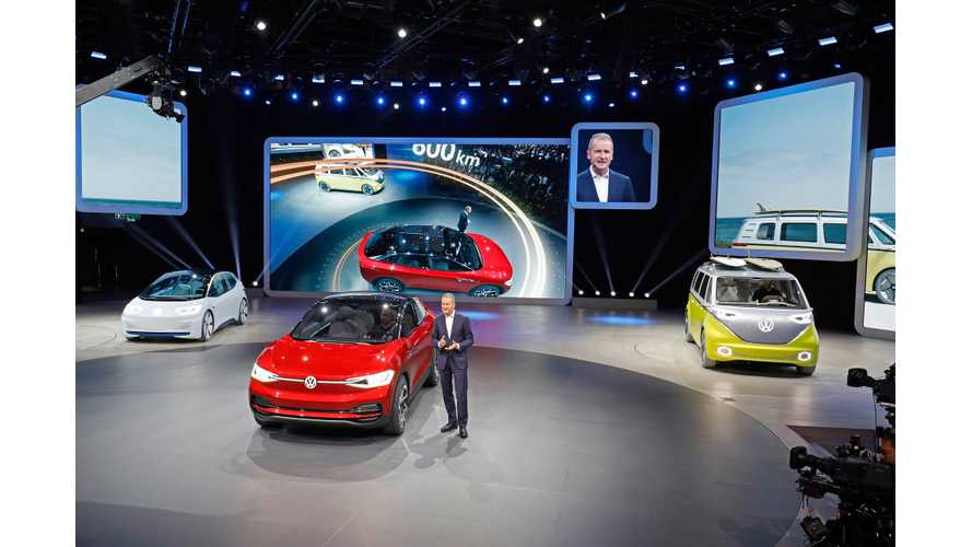 Volkswagen EV Offensive Is Focused On Europe And China