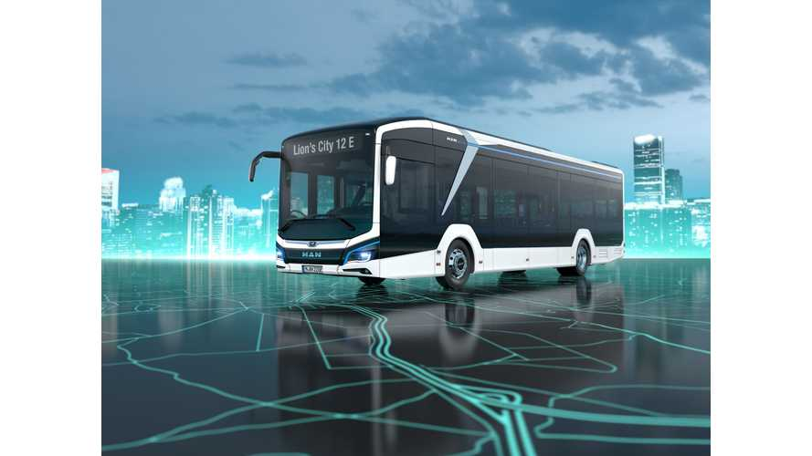 MAN Lion's City 12E Electric Bus Debuts At The 2018 IAA
