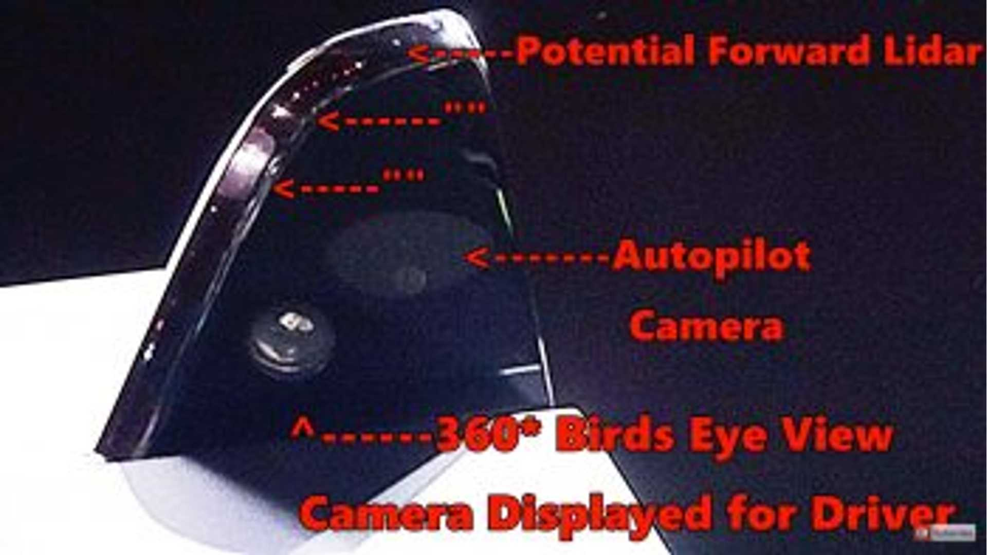 Tesla Semi Autopilot Sensors Pointed Out, Potential LiDAR