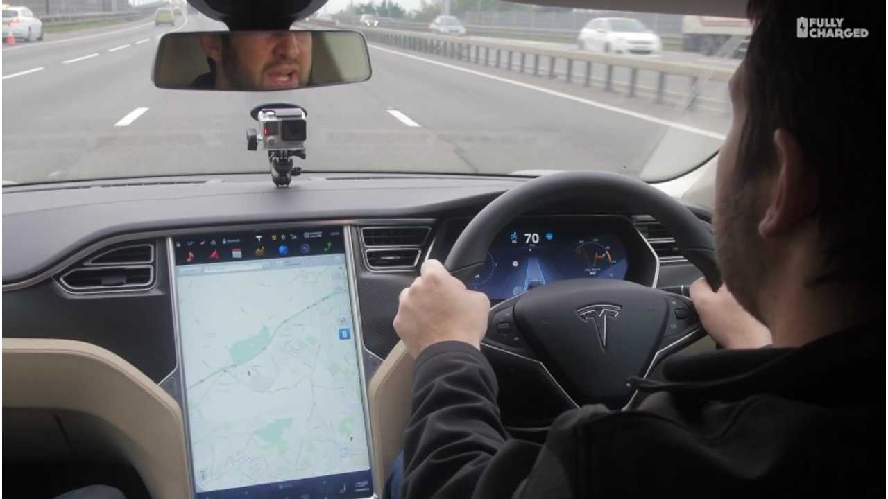 Fully Charged Test Tesla Model S Autopilot